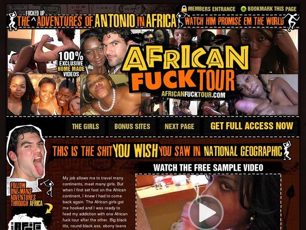Africanfucktour Logins Free