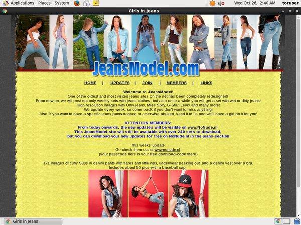 Jeansmodel.com 로그인