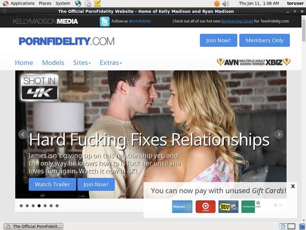 Pornfidelity Pay With