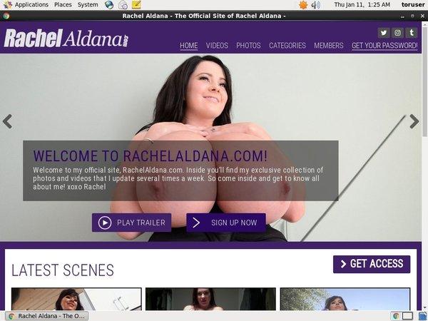 Rachelaldana.com Account Information