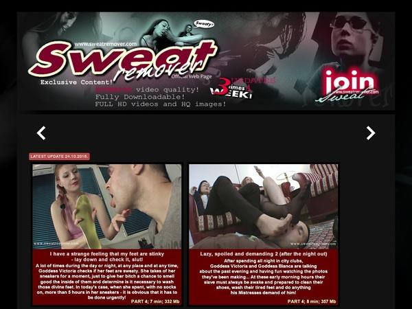 Sweat Remover Rabatt