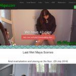 Wet Maya Free Scene