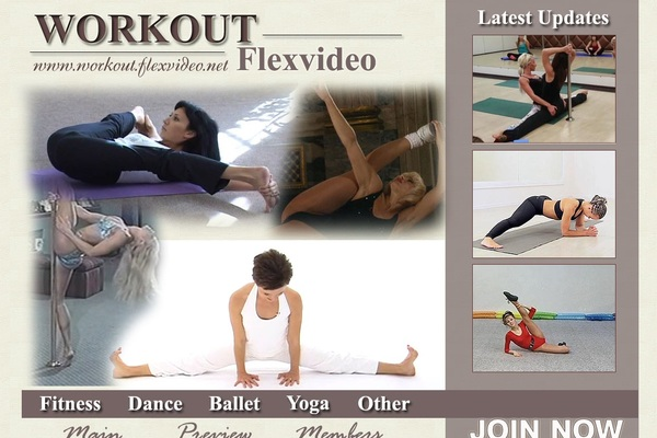 Workout Flex Video Join With Phone
