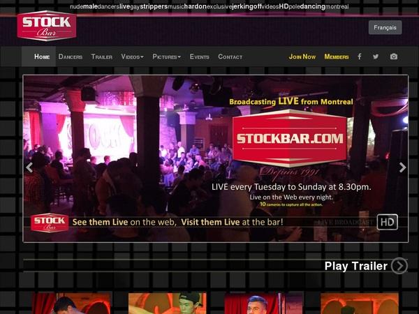 Stockbar.com Benutzername