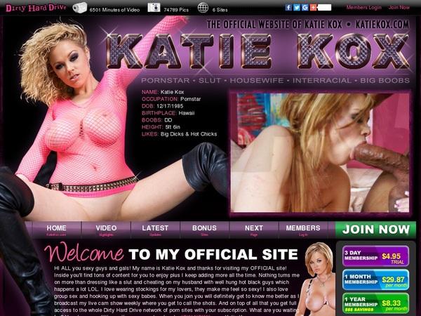 Premium Accounts Free Katiekox.com