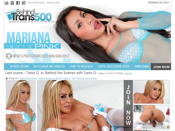 Behindtrans500.com Join By Phone