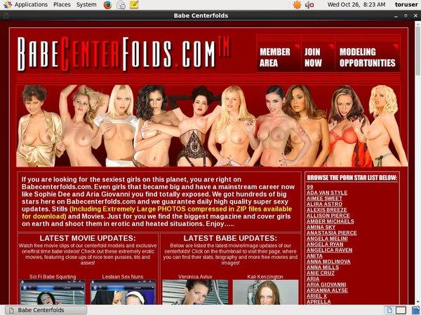 Free Login For Babecenterfolds.com