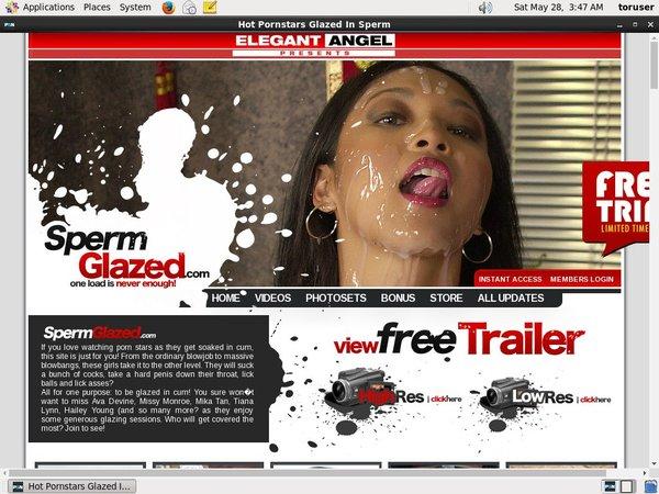 How To Get Free Spermglazed Account