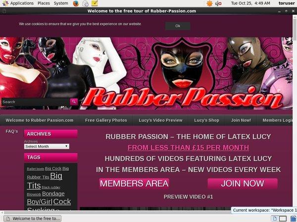 Rubber-passion.com Paysite Passwords