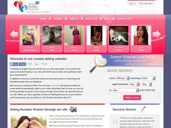 Single-russian-woman.com Model List